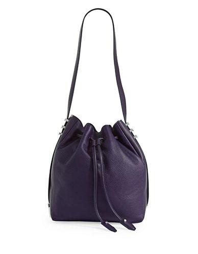 Luana Italy Luana Cecilia Bucket Bag-MIDNIGHT BLUE-One Size