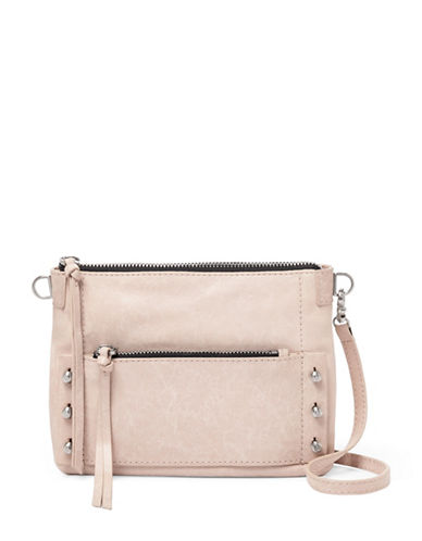 Botkier New York Warren Leather Crossbody-BEIGE-One Size