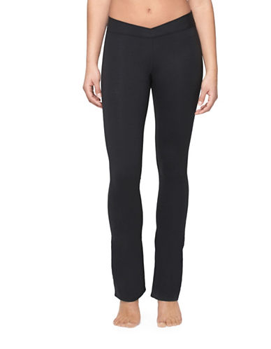 Yummie By Heather Thomson Katarina Yoga Pants-BLACK-X-Small