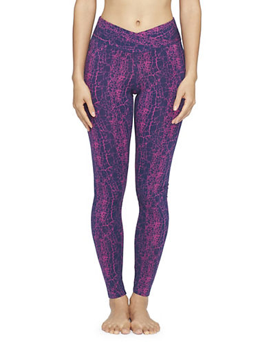 Yummie By Heather Thomson Hannah Printed Leggings-CRACKLE-Small 88601366_CRACKLE_Small