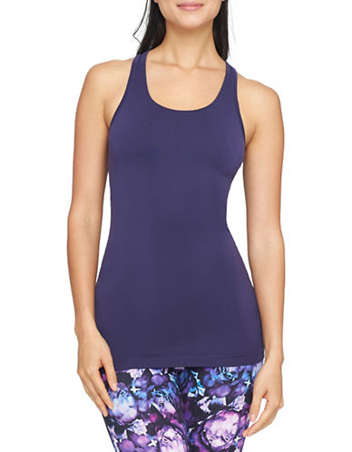 Yummie By Heather Thomson Sia Shelf Bra Tank-PURPLE-Small/Medium