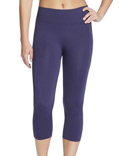 Yummie By Heather Thomson Gabby Seamless Capri-PURPLE-Medium/Large