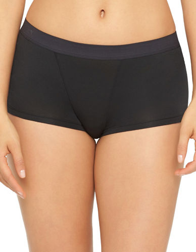 Yummie By Heather Thomson Black Tessa Shorts-BLACK-Small