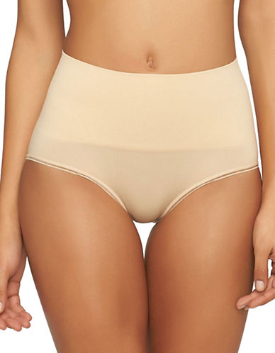 Yummie By Heather Thomson Ultralight Seamless Briefs-FRAPPE-Medium/Large