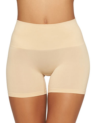 Yummie By Heather Thomson Ultralight Seamless Shorts-FRAPPE-Large/X-Large