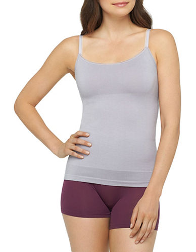 Yummie By Heather Thomson Seamless Convertible Camisole-GREY-Medium/Large