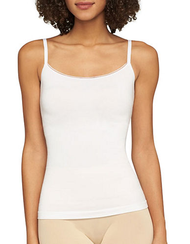 Yummie By Heather Thomson Seamless Convertible Camisole-WHITE-Small/Medium