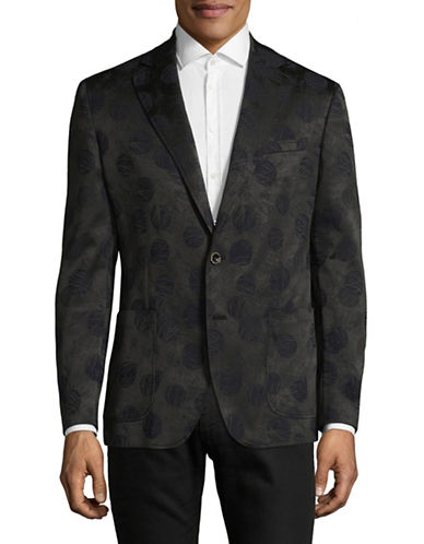 Robert Graham Narberth Sports Jacket-CHARCOAL-48