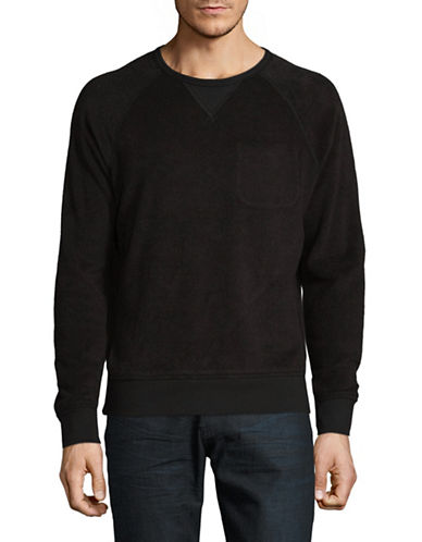Outerknown Low Tide Crew Sweater-BLACK-X-Large