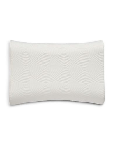 Tempur-Pedic TEMPUR-Contour Side-to-Side Firm Support Pillow-WHITE-Queen