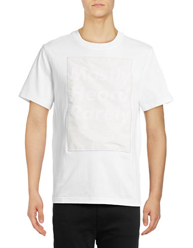 Mostly Heard Rarely Seen Namesake Window Tee-WHITE-Medium