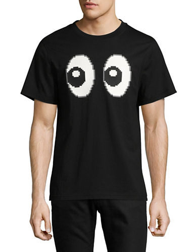 Mostly Heard Rarely Seen All Eyez On Me Lego Cotton Tee-BLACK-Large