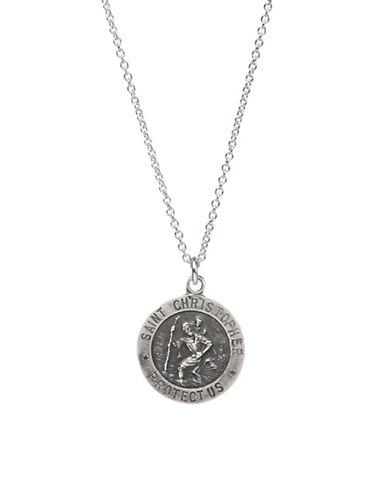 Accessories fashion jewellery saint christopher pendant necklace dogeared saint christopher pendant necklace aloadofball Images