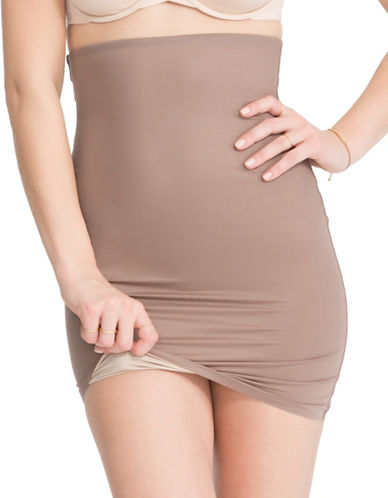 Spanx Two-Timing Half Slip-BEIGE-Large
