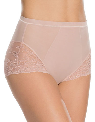 Spanx Spotlight On Lace Briefs-PINK-Small