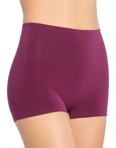 Spanx Everyday Shaping Boyshort Panty-PURPLE-Small