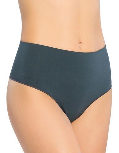 Spanx Everyday Shaping Panties Thong-BLUE-X-Large