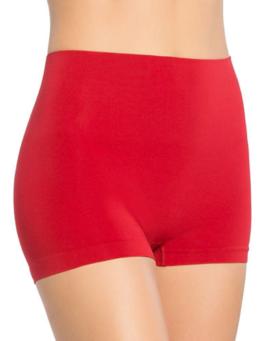 Spanx Everyday Shaping Boyshort Panty-RED POP-Small