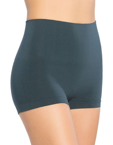 Spanx Everyday Shaping Boyshort Panty-BLUE-X-Large