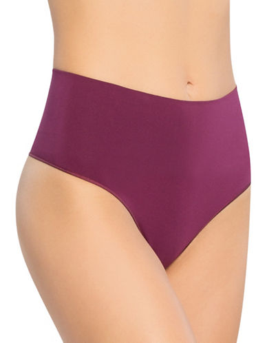 Spanx Everyday Shaping Panties Thong-PURPLE-Medium