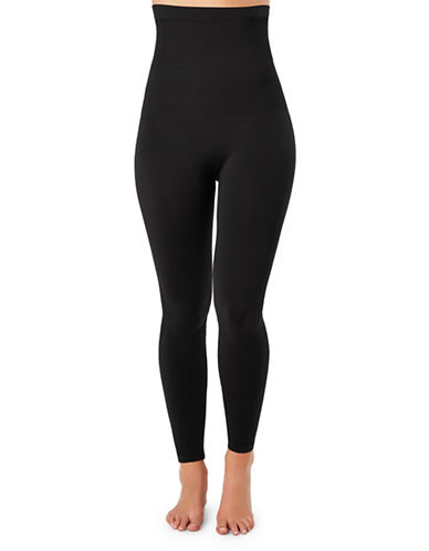 Spanx Look At Me Now High-Waist Leggings-VERY BLACK-Medium