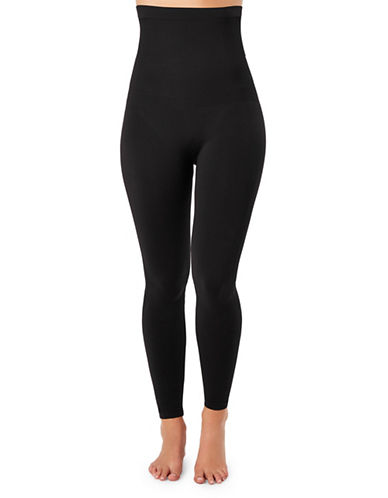 Spanx Look At Me Now High-Waist Leggings-VERY BLACK-1X