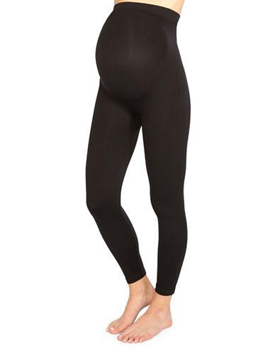 Spanx Plus Maternity Leggings-BLACK-2X