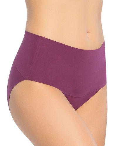 Spanx Undie-tectable Brief-PLUMBERRY-Small