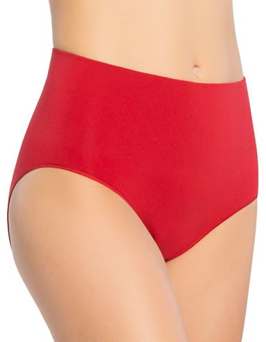 Spanx Everyday Shaping Brief-RED POP-Large