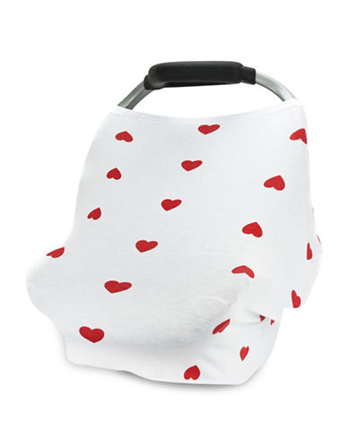 Carseat Canopy Ruby Stretch Car Seat Cover-GREY-One Size