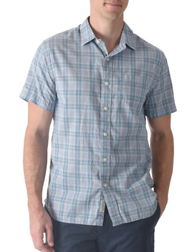 Grayers Sutton Poplin Shirt-GREY-Small