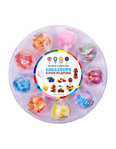 Dylan'S Candy Bar Nine Flavour Lollipop Wheel-NO COLOR-One Size