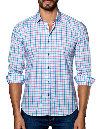 Jared Lang Woven Checked Shirt-ASSORTED-XXX-Large