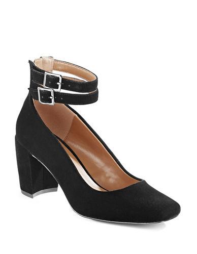 H Halston Regina Velvet Strappy Pumps-BLACK VELVET-6.5 88901447_BLACK VELVET_6.5