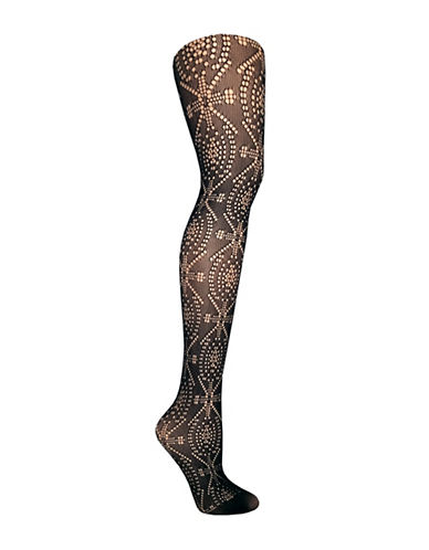 Versace Ph2175 Pattern Tights-BLACK-Large 88982437_BLACK_Large