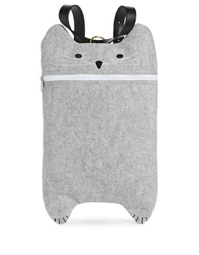 Truezoo Fely Cat Backpack-GREY-One Size