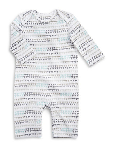 Aden By Aden And Anais Bunting print Coverall-GREY-3-6 Months