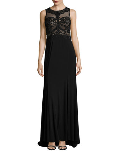 Decode 1.8 Illusion Beaded Gown-BLACK-6