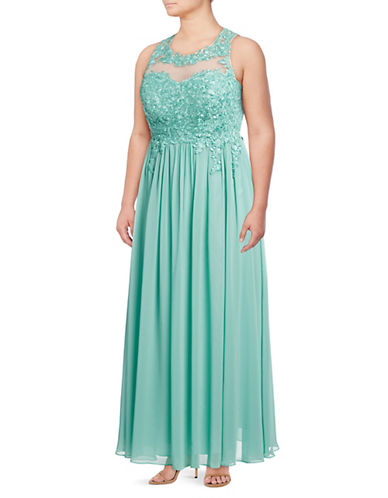 Decode 1.8 Lace Bodice Evening Gown 89801552