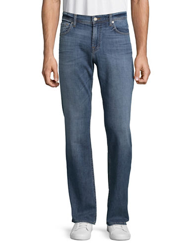 7 For All Mankind Robin Straight Leg Jeans-LIGHT BLUE-36