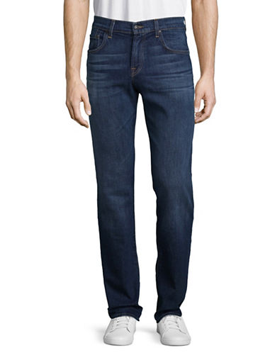 7 For All Mankind Straight-Leg Jeans-BLUE-31