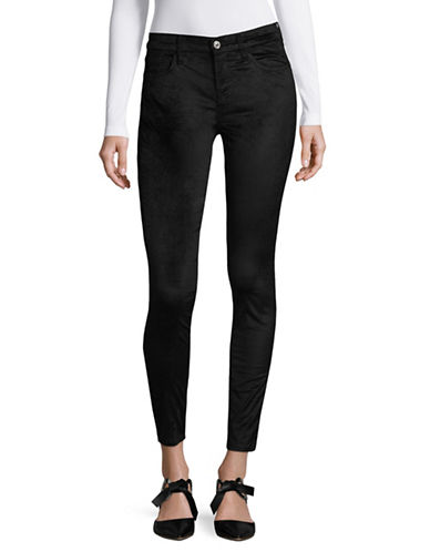 7 For All Mankind Ankle Skinny Jeans-BLK-32