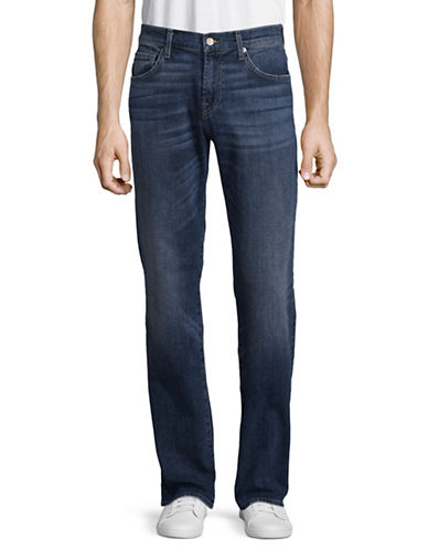 7 For All Mankind Relaxed Austyn Straight Leg Jeans-BLUE-31