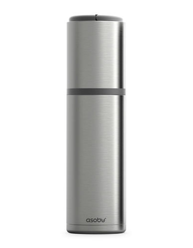 Asobu Blanc Portable Stainless Steel Wine Chiller-SILVER-One Size