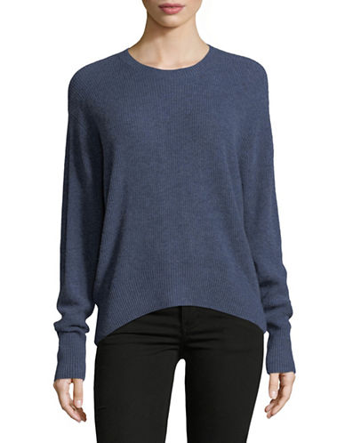 Autumn Cashmere Relaxed Cashmere Sweater-BLUE-X-Small