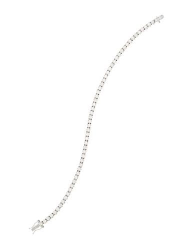 Fine Jewellery Diamond and 14k White Gold Tennis Bracelet Box Set-WHITE GOLD-One Size