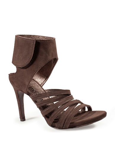 Pedro Garcia Sanna Castoro Leather Sandals-BROWN-EUR 39/US 9