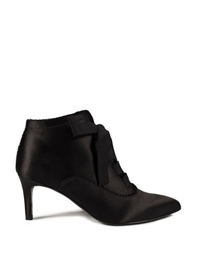 Pedro Garcia Oxford Mid Ankle Boots-BLACK-EUR 38/US 8