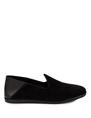 Pedro Garcia Leather Slip-On Shoes-BLACK-EUR 38/US 8