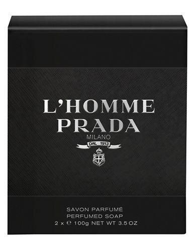 Prada L Homme Prada Perfumed Soap-NO COLOUR-One Size